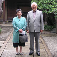 南一雄・南タミ子 2008年撮影